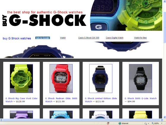 Where To buy Gshock watches in Phoenix