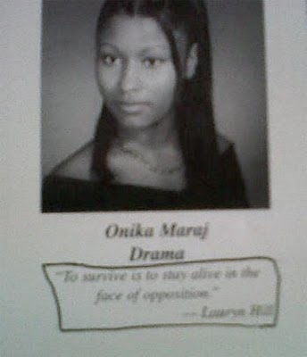 Nicki Minaj High School Pics